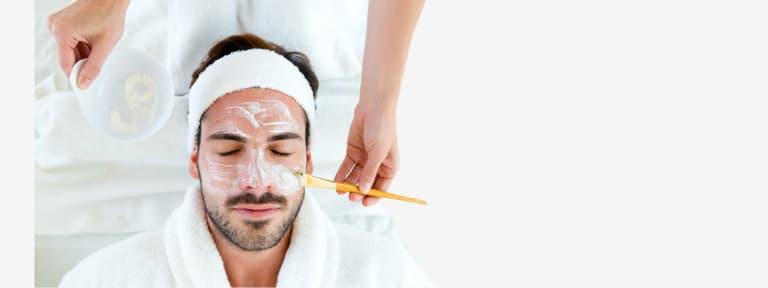 Men Skin Care Facials